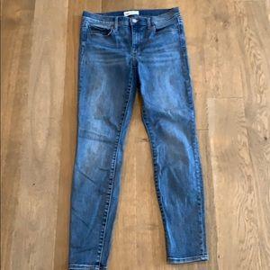 Like new Stretch skinny jeans by Gap size 30